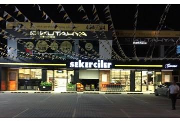 Şekerciler Market En Tazesi, En Lezzetlisi,En Kalitelisi Alacaatlı Şubemiz Hizmete Girmiştir.