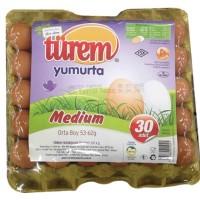 Şekerciler Market En Tazesi, En Lezzetlisi,En Kalitelisi TÜREM YUMURTA 30'LU