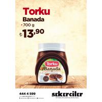 Şekerciler Market En Tazesi, En Lezzetlisi,En Kalitelisi Torku Banada 700 gr