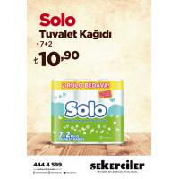 Şekerciler Market En Tazesi, En Lezzetlisi,En Kalitelisi Solo Tuvalet Kağıdı 7+2