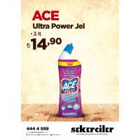 Şekerciler Market En Tazesi, En Lezzetlisi,En Kalitelisi Ace Ultra Power Jel 3 lt