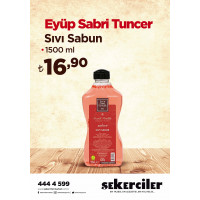 Şekerciler Market En Tazesi, En Lezzetlisi,En Kalitelisi Eyüp Sabri Tuncer Sıvı Sabun 1500 ml