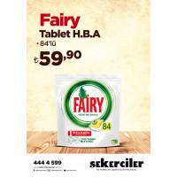 Şekerciler Market En Tazesi, En Lezzetlisi,En Kalitelisi Fairy Tablet H.B.A 84'lü