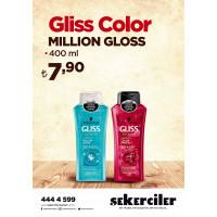 Şekerciler Market En Tazesi, En Lezzetlisi,En Kalitelisi Gliss Color Million Gloss 400 ml