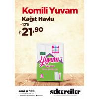 Şekerciler Market En Tazesi, En Lezzetlisi,En Kalitelisi Komili Komfor Tuvalet Kağıdı 32'li