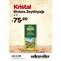 Şekerciler Market En Tazesi, En Lezzetlisi,En Kalitelisi Kristal Riviera Zeytinyağı 4lt