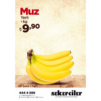 Şekerciler Market En Tazesi, En Lezzetlisi,En Kalitelisi Muz kg