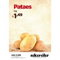 Şekerciler Market En Tazesi, En Lezzetlisi,En Kalitelisi Patates Kg