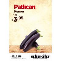 Şekerciler Market En Tazesi, En Lezzetlisi,En Kalitelisi Patlıcan Kemer Kg
