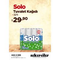 Şekerciler Market En Tazesi, En Lezzetlisi,En Kalitelisi Solo Tuvalet Kağıdı 32'li