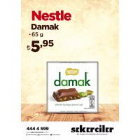 Şekerciler Market En Tazesi, En Lezzetlisi,En Kalitelisi Nestle Damak 65gr