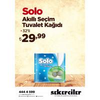 Şekerciler Market En Tazesi, En Lezzetlisi,En Kalitelisi Solo Tuvalet Kağıdı 32'li Akıllı Seçim