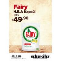Şekerciler Market En Tazesi, En Lezzetlisi,En Kalitelisi Fairy H.B.A. Kapsül 60'lı