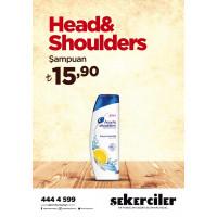 Şekerciler Market En Tazesi, En Lezzetlisi,En Kalitelisi Head&Shoulders Şampuan