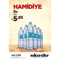 Şekerciler Market En Tazesi, En Lezzetlisi,En Kalitelisi Hamidiye Su 6x1,5lt