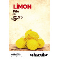 Şekerciler Market En Tazesi, En Lezzetlisi,En Kalitelisi Limon File Kg