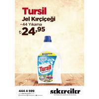 Şekerciler Market En Tazesi, En Lezzetlisi,En Kalitelisi Tursil Jel Kırçiçeği 44 Yıkama